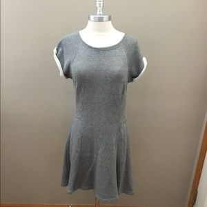 Sanctuary Gray Sweatshirt Dress